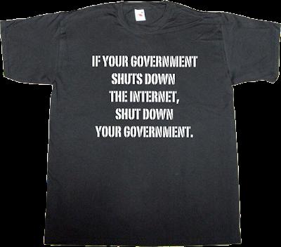 activism sopa derechos fundamentales stop online piracy act internet 2.0 peer to peer p2p useless copyright useless patents useless Politics megaupload t-shirt ephemeral-t-shirts