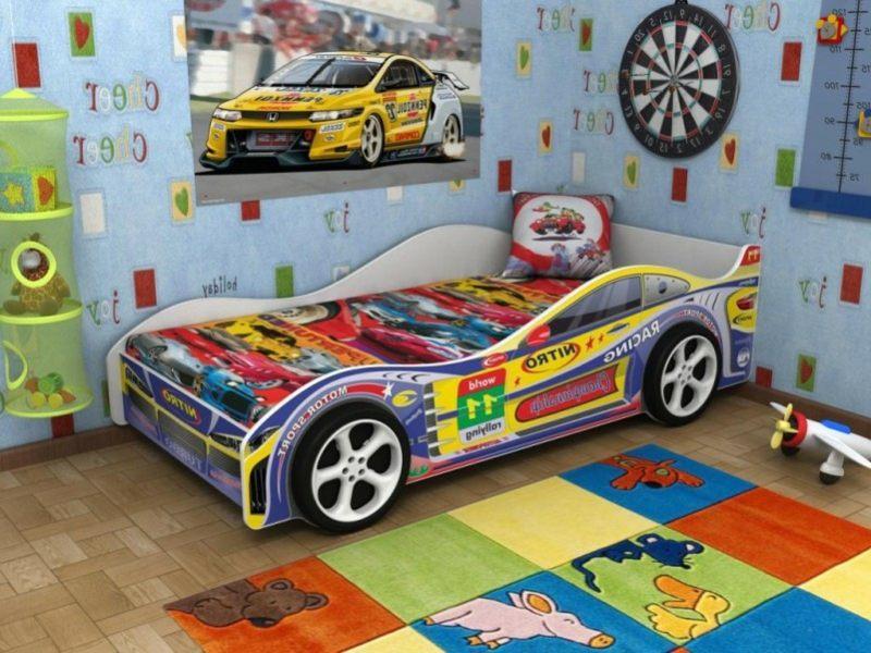 Awesome camas para nios con forma de autos dormitorios - Camas coches para ninos ...