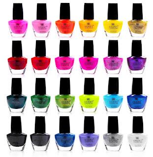 Shany nail art colors polish set 24 colors prinsesfo Image collections