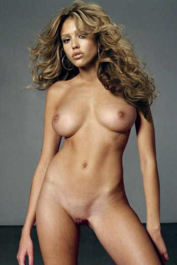 wallpaper Jessica alba nude