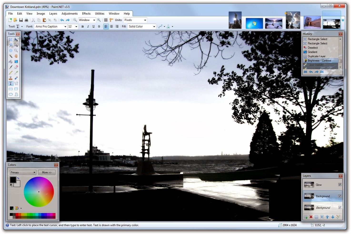 تحميل برنامج Paint.NET لإنشاء وتحرير الصور والخلفيات مجاناً 3.5.11