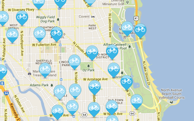bike walk lincoln park new divvy stations are popping up everywhere
