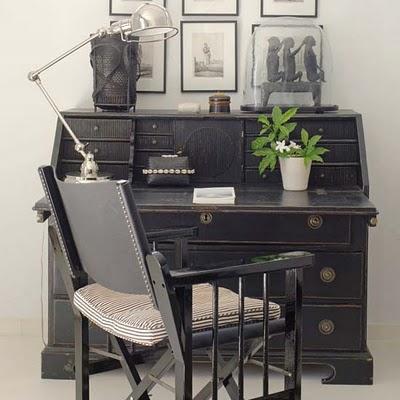 Mueble de despacho antiguo