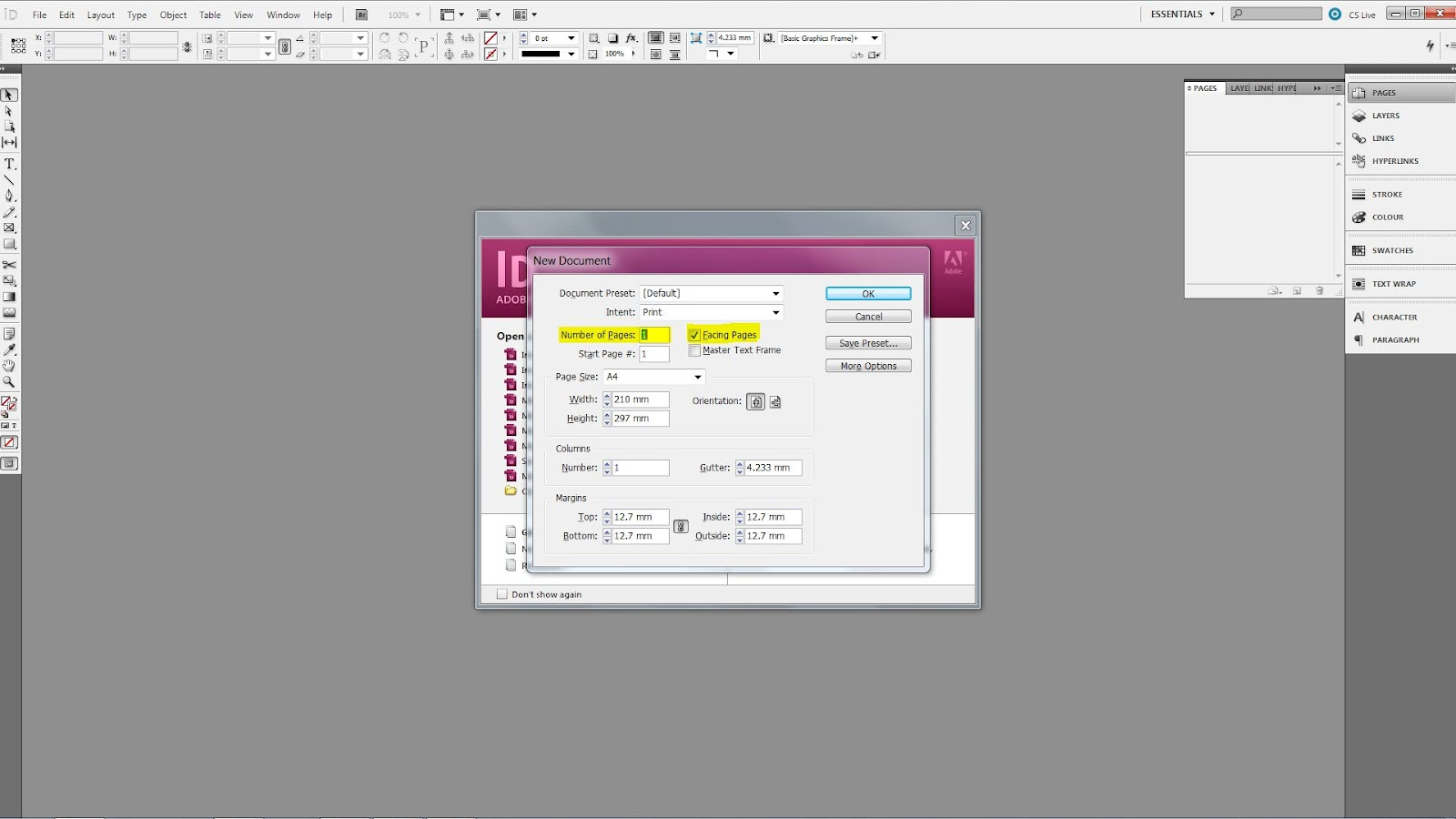 indesign wont export pdf issue