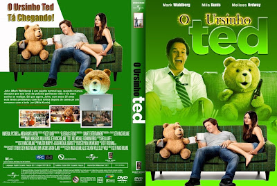 O Ursinho Ted DVD Capa