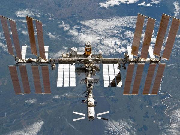 Estación Espacial Internacional 'flotando' en el espacio ultraterrestre