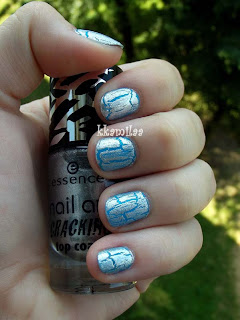 Essence Nail Art Cracking nr 04 - Crack Me! Silver