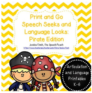https://www.teacherspayteachers.com/Product/Print-and-Go-Pirate-Themed-Speech-Seek-and-Language-Look-Reinforcer-1787752