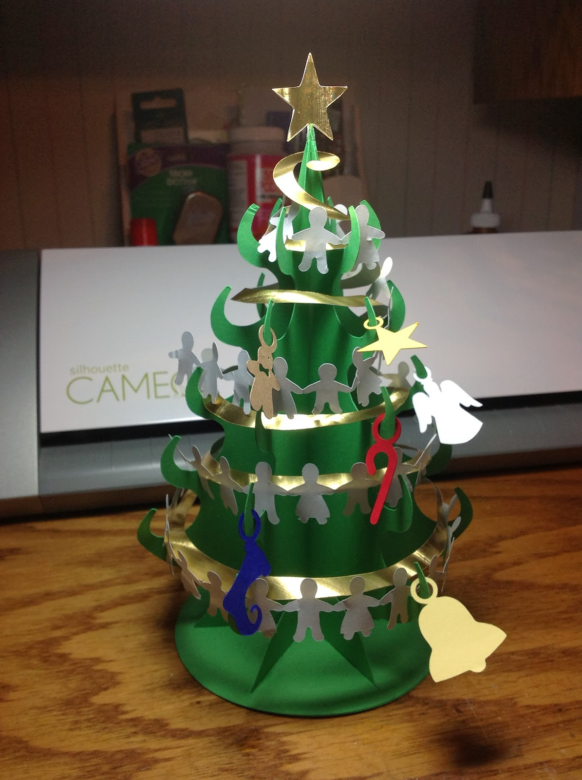 the perfect desktop christmas tree