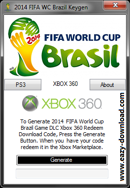 2014 FIFA World Cup Brazil Keygen