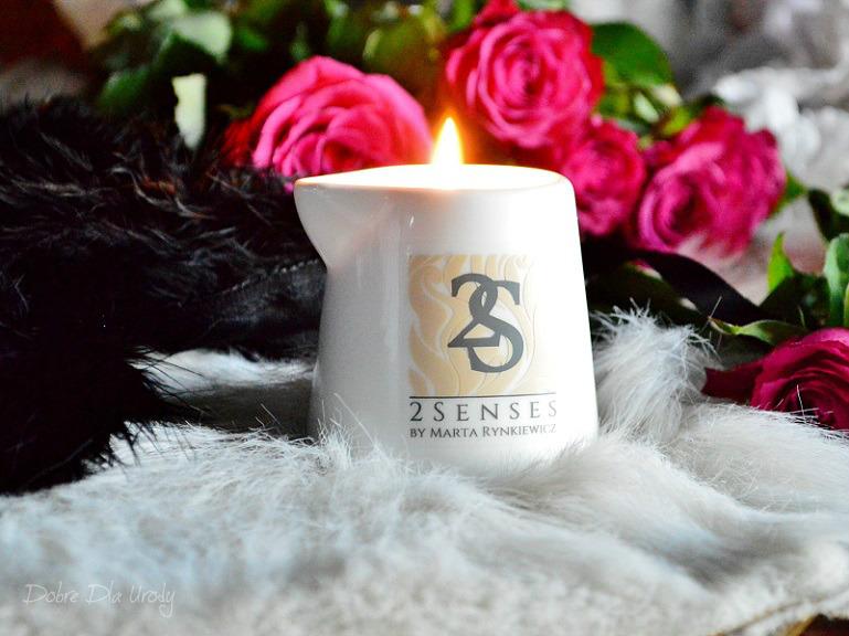 Świeca do masażu Wanilia z nutą cytrusową i akcentem kwiatowym