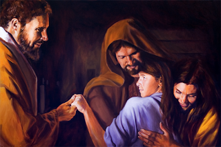 Christ Healing the Daughter of Jairus