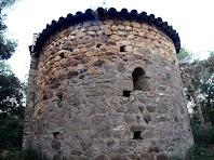 L'absis de l'ermita de Sant Andreu