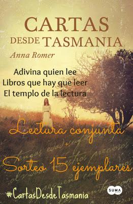 LECTURA CONJUNTA +SORTEO CARTAS DESDE TASMANIA.