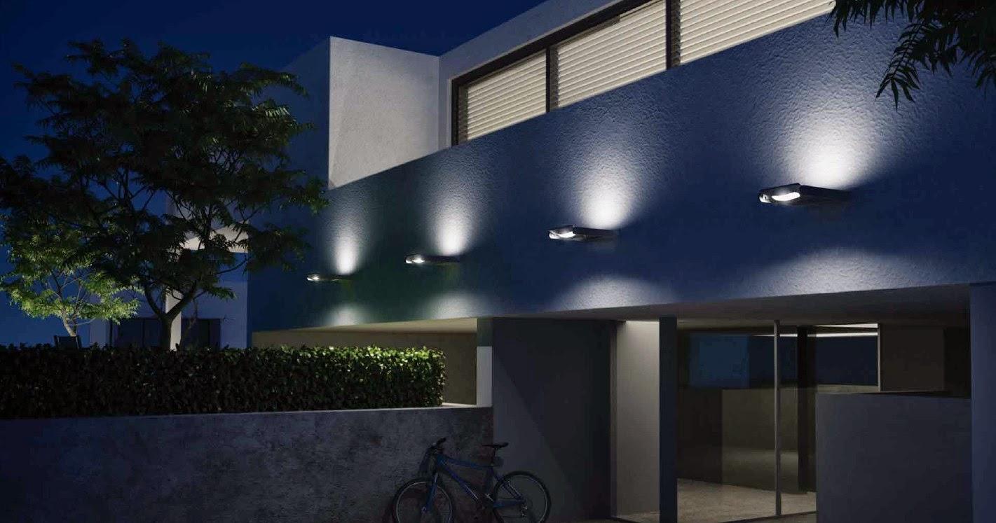 Lampade da esterno moderne. faro outdoor garden karl ap led lampada