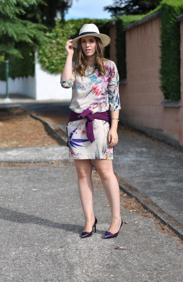 Classic silk dress