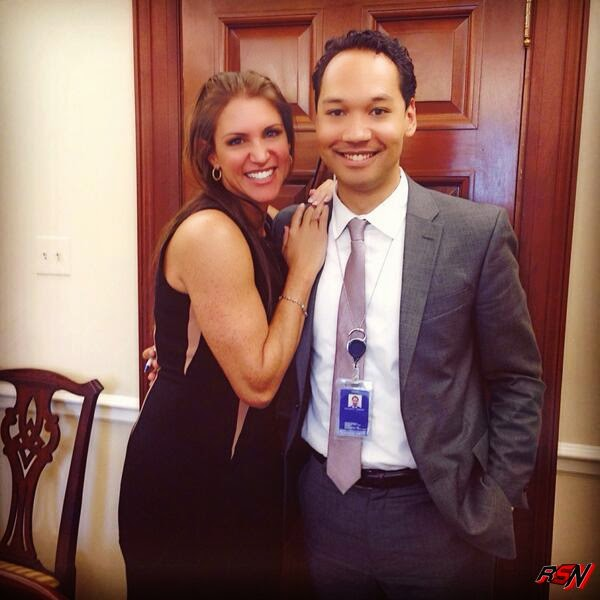 Recent Picture Of Stephanie McMahon At White House.
