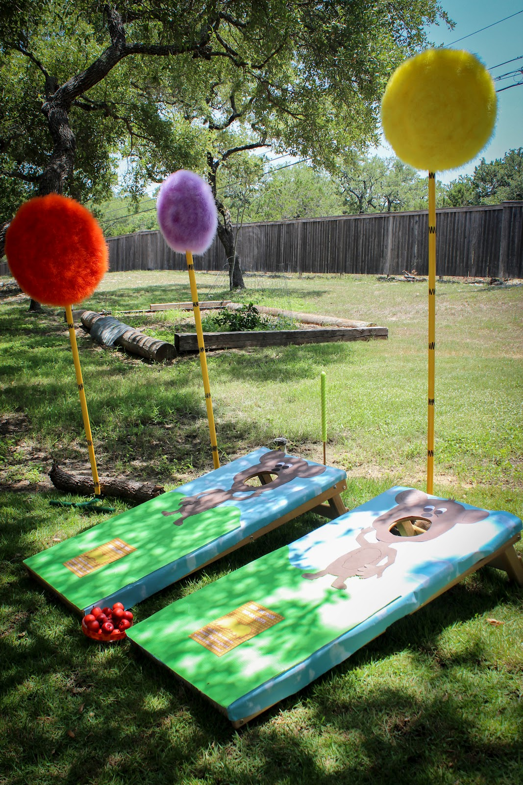 The Party Wall The Lorax Party Part 2 Decorations