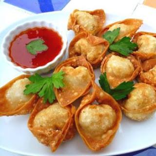 "Chef Prashant Recipes"": "" Fried Won-ton """