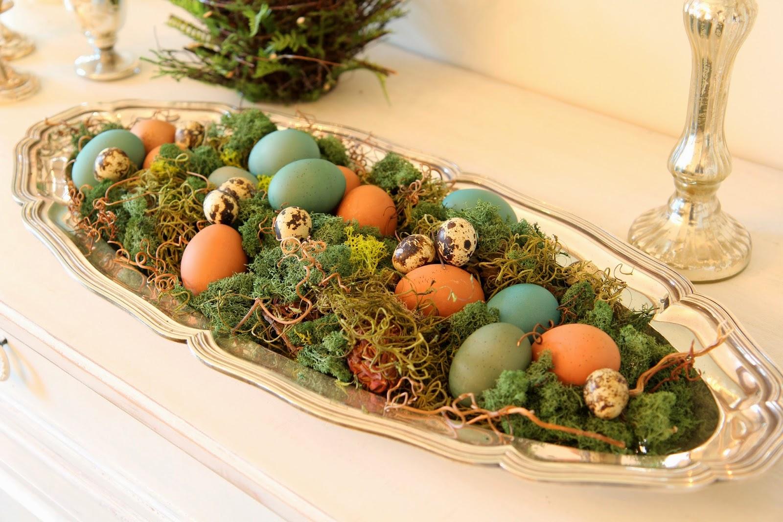 Natural Egg Platter; Easter Eggstravaganza; Nora's Nest