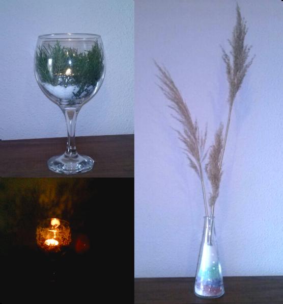 decoracin jarrn y portavela