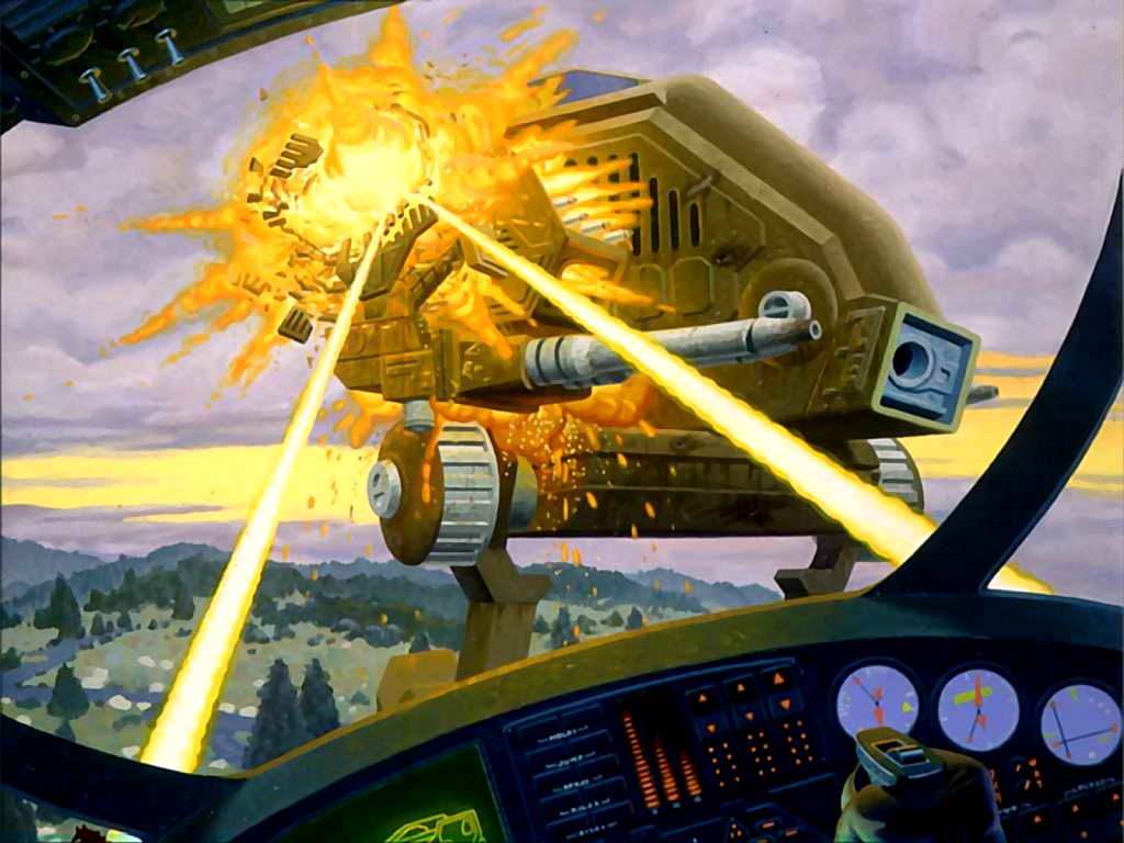 Mechwarrior 2 Wallpaper The Mech Warrior 2 Demo at