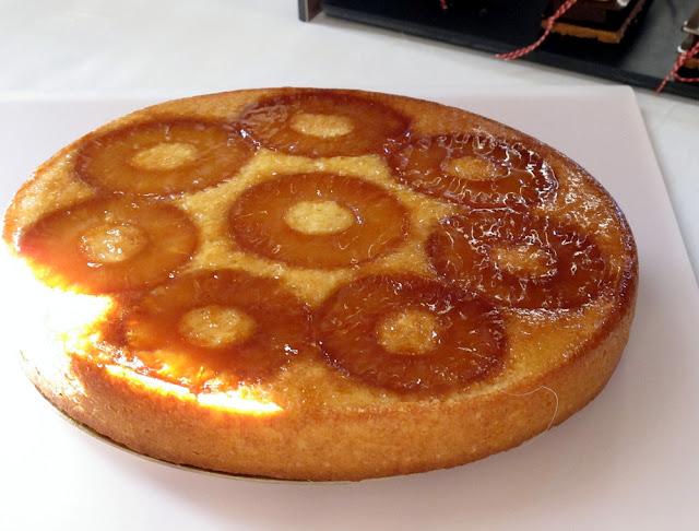 Gâteau ananas Grand Marnier - Nicolas Boussin