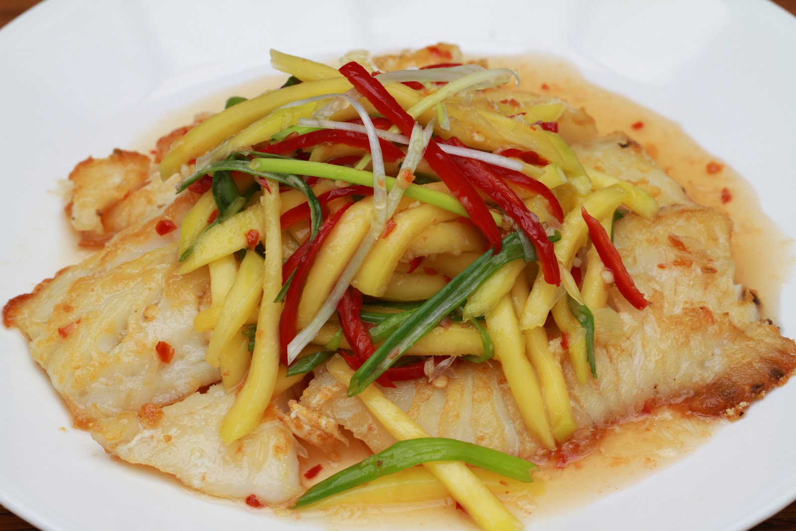 ... with green mango with green mango salad tangy spicy thai mango