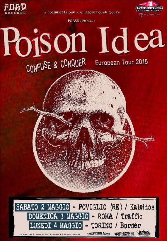 poison idea - italia - 2015