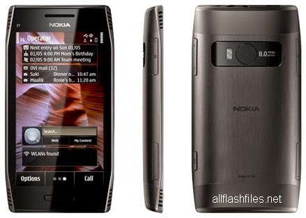 Nokia X7-00 RM-707 Latest Flash File/Firmware Download Free