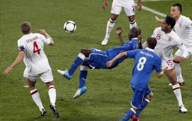الضربات الترجيحية في مباراة ايطاليا وانجلترا 4-2 في بطولة اليورو 24-6-2012