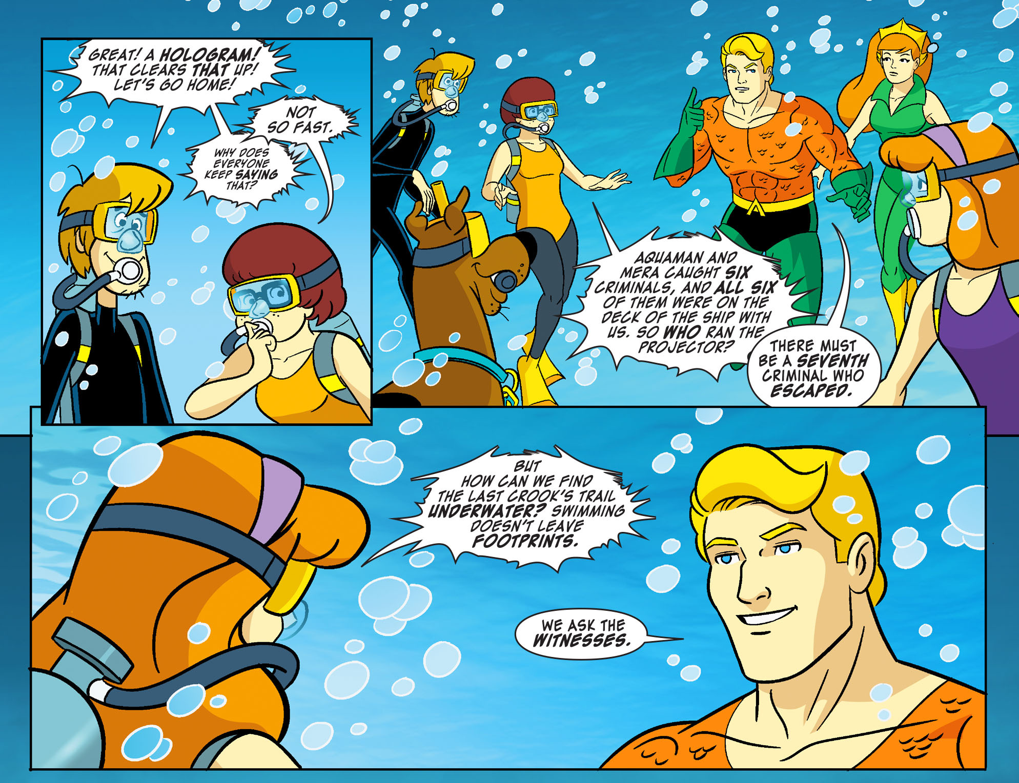 Read online Scooby-Doo! Team-Up comic -  Issue #27 - 18