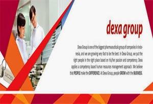 Lowongan Kerja Dexa Group Ungaran Februari 2015