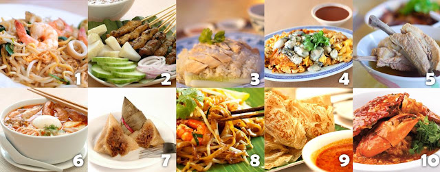 Khám phá ẩm thực Singapore