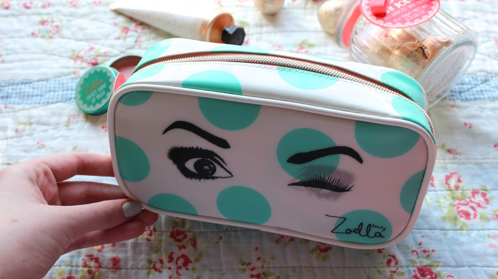 New Zoella Beauty Cosmetic Bags Giveaway 14 January 2017