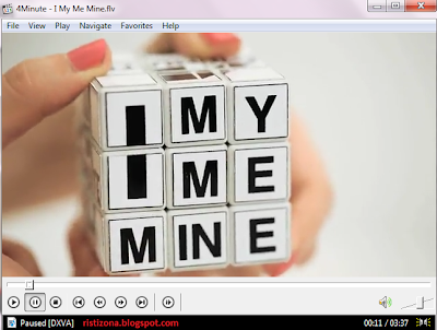 video klip zaskia jiplak 4Minute, rubik