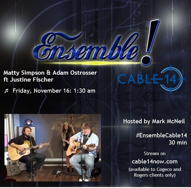 Nov 16: Coming Soon on Ensemble! on Cable 14