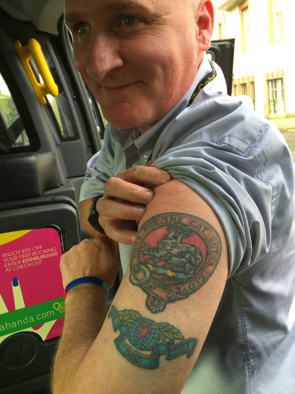 A tale of two lasses for Buchanan clan tattoo