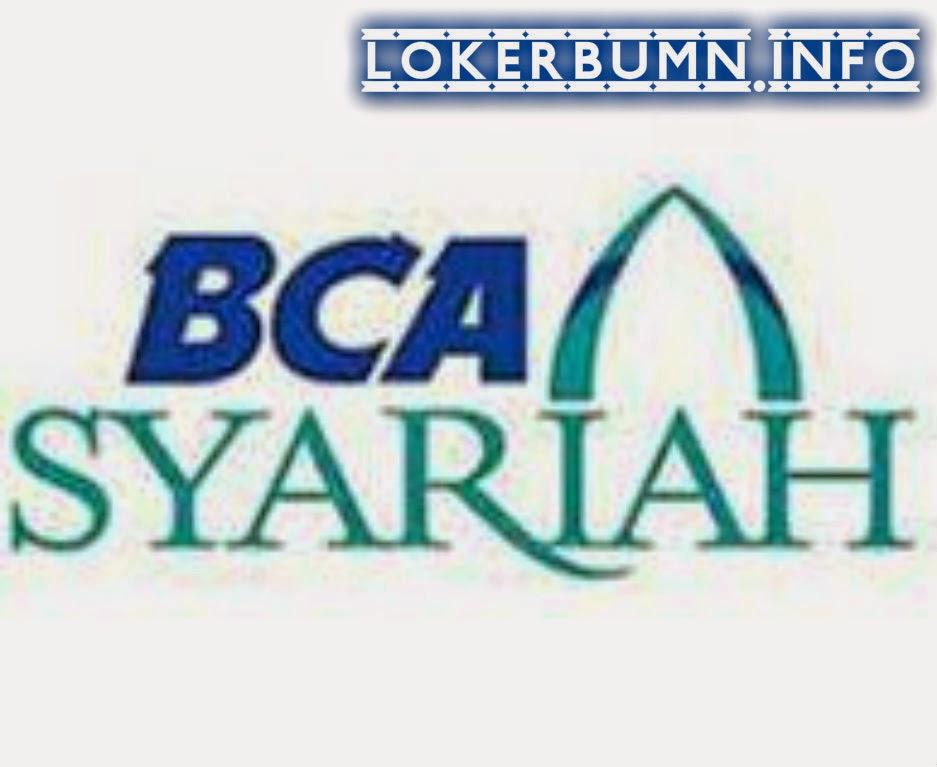 Lowongan Kerja Bank BCA Syariah Yogyakarta