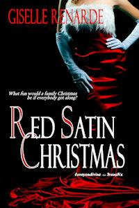 Red Satin Christmas by Giselle Renarde