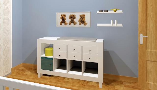 Qué muebles elegirías para decorar la habitación de tu bebé? ¿Podrás ...
