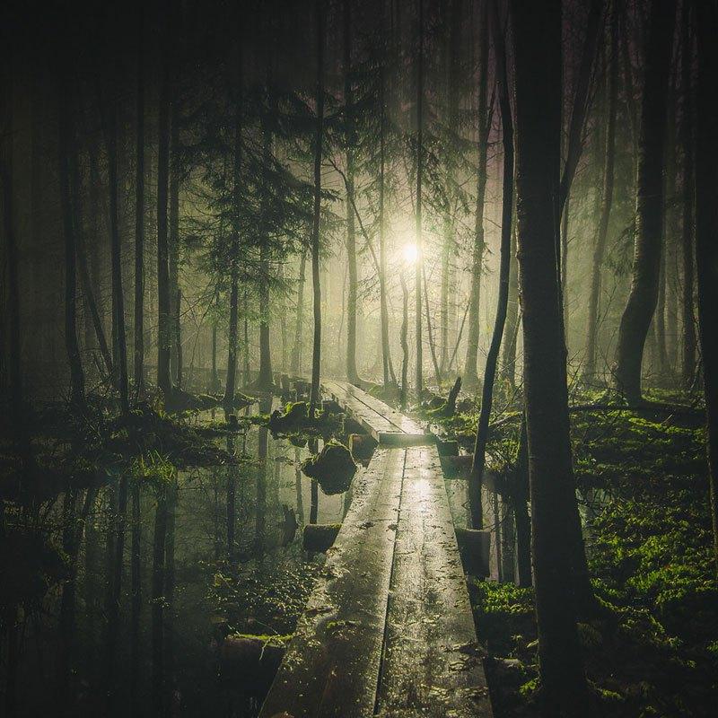 karya fotografi atmosfer malam hari di finlandia yang menakjubkan