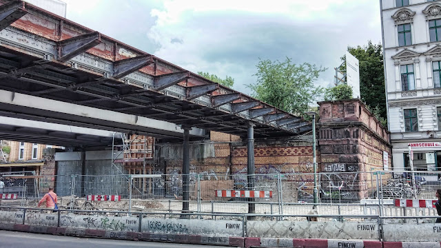 Baustelle Yorckbrücken, Yorckstraße 57, 10965 Berlin, 24.06.2014