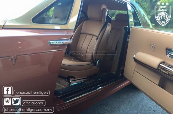 Gambar Rolls Royce edisi Southern Tigers yang menakjubkan