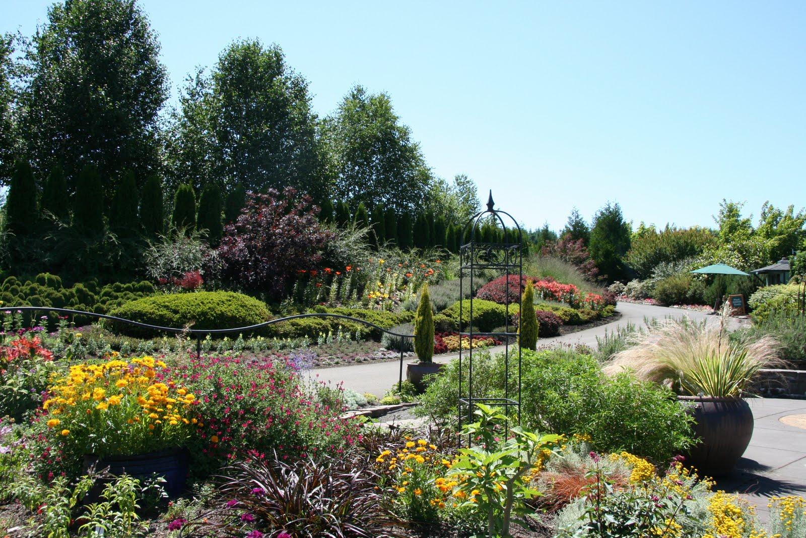 the beauty of the oregon garden - The Oregon Garden