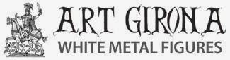 ART GIRONA White Metal Figures