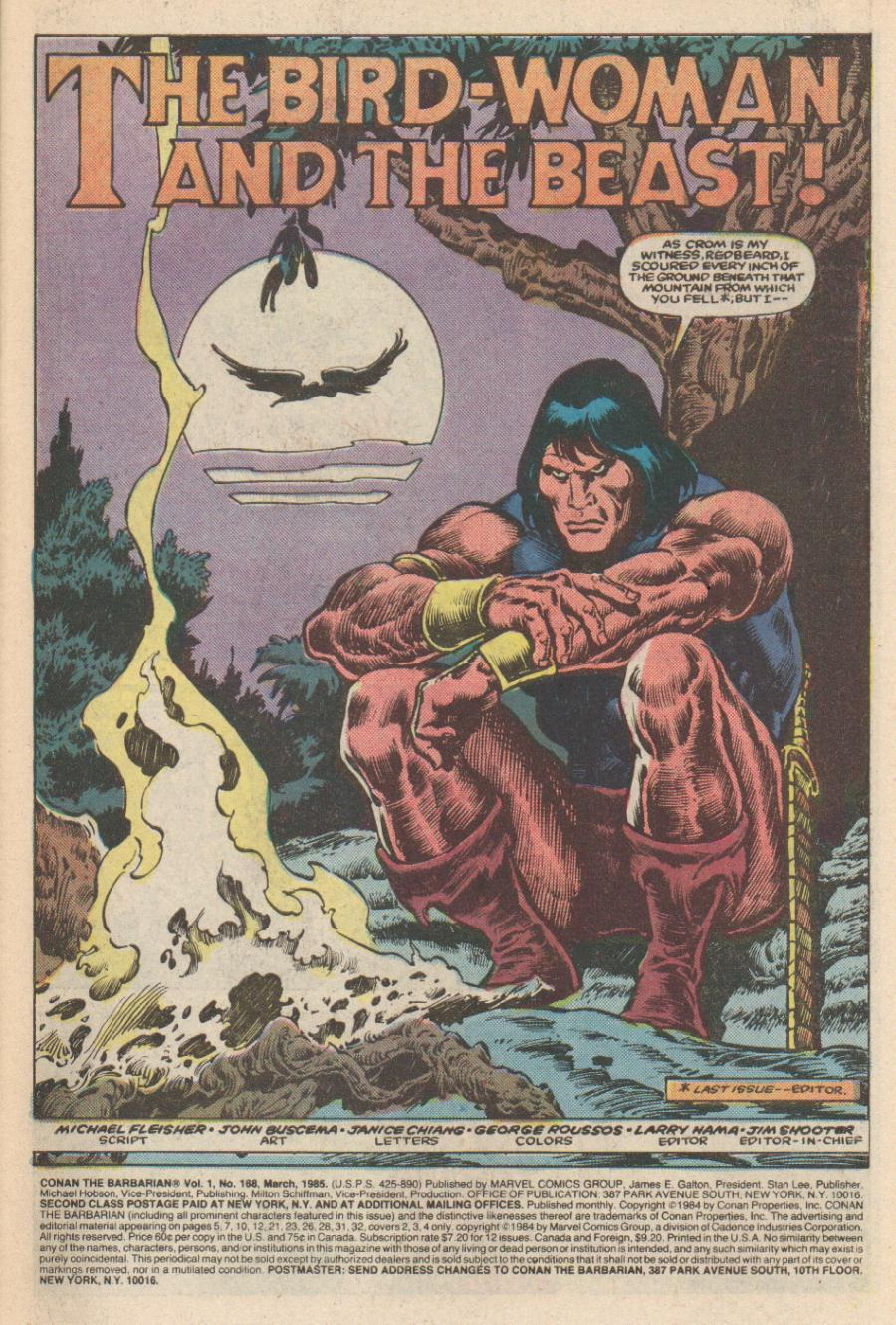 Conan the Barbarian (1970) Issue #168 #180 - English 2