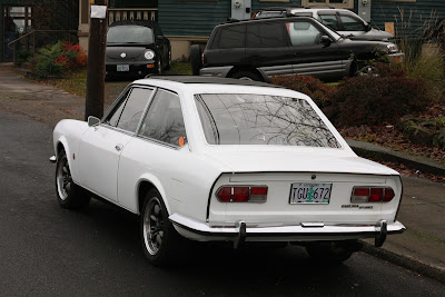 1969 Fiat 124 Sport coupe.
