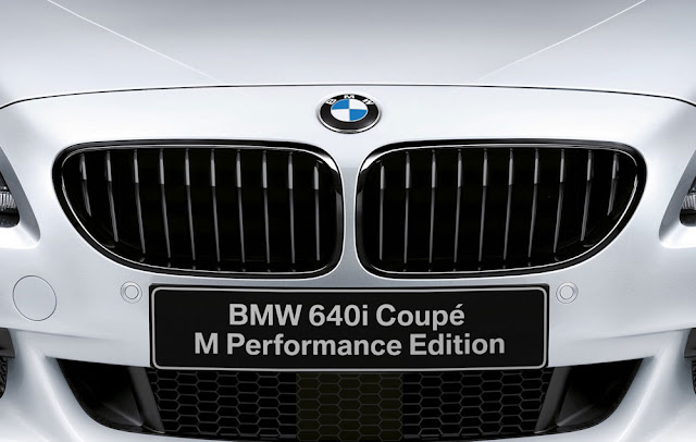 BMW 640i Coupe M Performance Editions