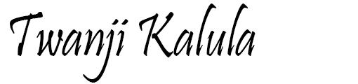 Twanji Kalula